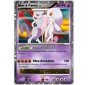 Pok&233mon Mew Family 1  Mega Evolution Ma Carte