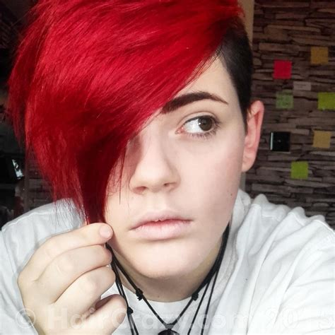 which hair dye is less damaging to hair buy directions pillarbox red directions hair dye