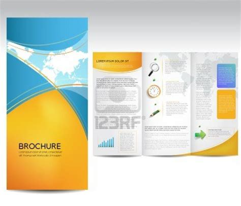 brochure templates ai free download 4 best and various
