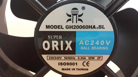 Best Product Orix Ac Fan 20 Cm jual kipas fan panel orix ac 220v 20x20 cm with bearing made taiwan best quality di lapak