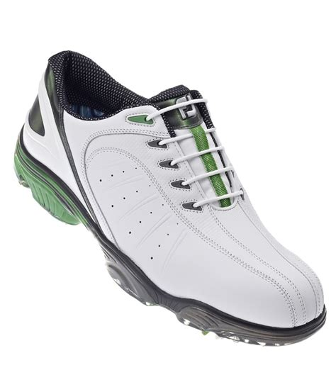footjoy sport golf shoe footjoy mens fj sport golf shoes white green white 2013