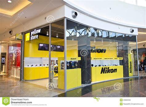 nikon shop nikon store editorial photo image 23662346
