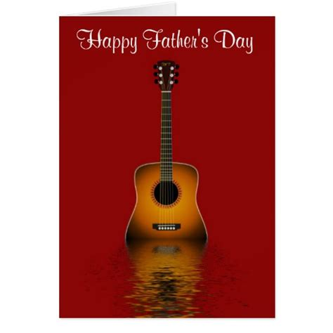 s day guitar happy s day with acoustic guitar to greeting
