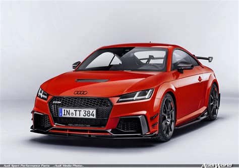Audi Tt Sport by The Audi Sport Performance Parts New Dynamics For Audi