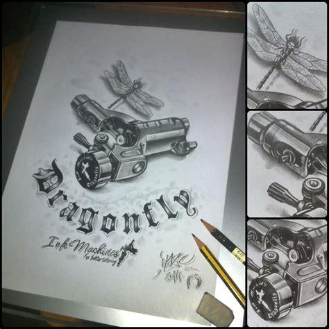 tattoo machine reddit dragonfly tattoo machine pencil drawing by blaze by