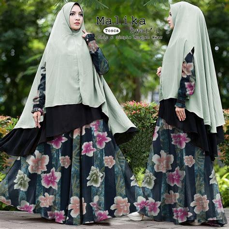 Grosir Baju Gamis Syari Medina Syari Qn baju gamis syari polos terbaru supplier baju muslim terbaru