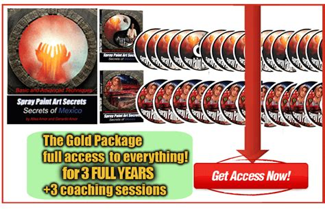 spray paint lessons spray paint lessons gold 3 year membership offer