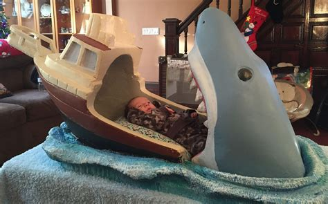shark bed shark attack baby bed the worley gig
