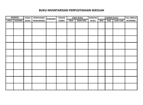 format buku non inventaris 301 moved permanently