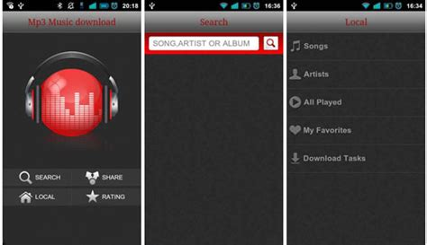 top 10 best mp3 music downloader android apps for free best free music downloader apps for android download mp3