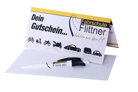 Motorrad Und F Hrerschein Zusammen Kosten 2015 by Geschenkgutschein Fahrschule Flittner In Erding Dorfen