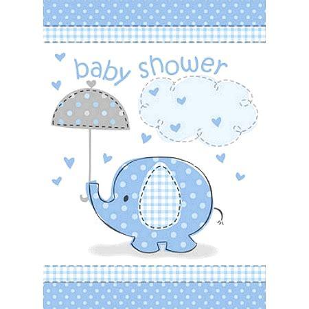 Elephant Baby Shower Boy by Blue Elephant Baby Shower Invitations