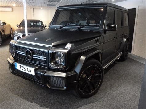 mercedes g wagon 2016 used 2016 mercedes g class 5 5 g63 amg edition 463