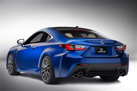 lexus rc 2015 lexus rc f coupe announced modified