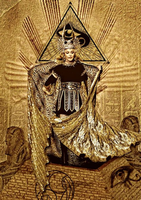madonna illuminati madonna goddess tour image color version by tomzj1