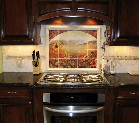 Kitchen With Mosaic Backsplash Rsmacal Page 3 Square Tiles With Light Effect Kitchen