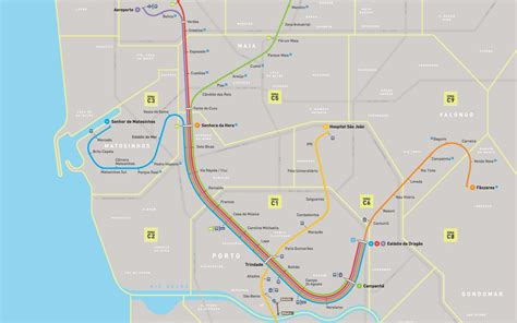 porto map travelling by metro in porto tips and costs