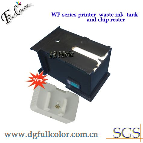 chip resetter for epson wf 3640 maintenance box for epson t6710 waste ink tank with chip