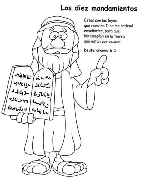 los diez mandamientos para nios 17 best images about diez mandamientos on pinterest