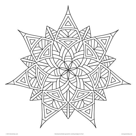 designs to color for coloring pages geometrip free geometric coloring designs print free printable coloring