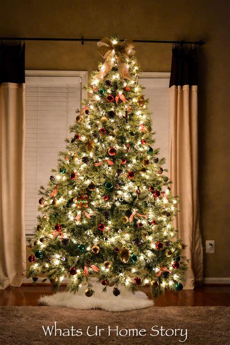 christmas tree whats ur home story
