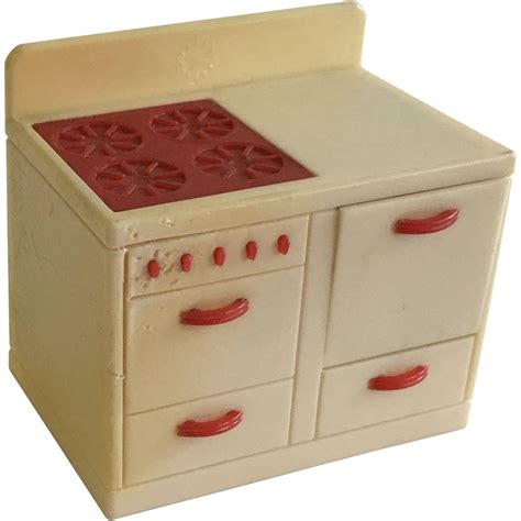 vintage renwal dollhouse furniture ca 1940 s from