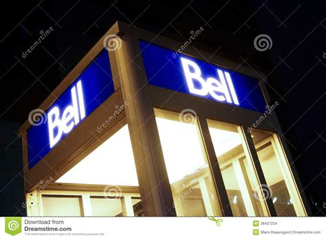Bell Canada Gift Card - bell canada editorial stock image image 38407234