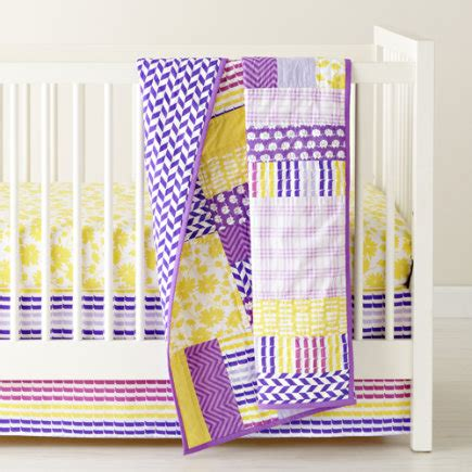 Purple And Yellow Crib Bedding by Purple Baby Bedding Totally Totally Bedrooms