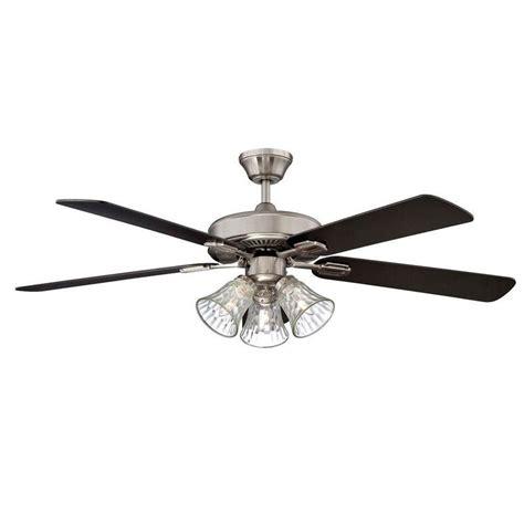 metal blade ceiling fan radionic hi tech stargate 52 in stainless steel ceiling