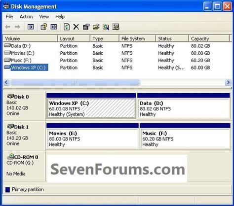 tutorial instal windows 7 pc clean install windows 7 from the windows xp desktop