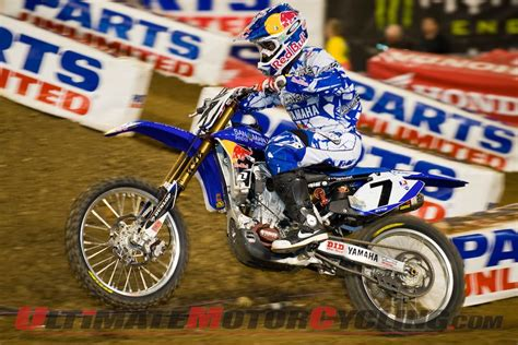 ama motocross registration yamaha sx stewart 2nd at la supercross