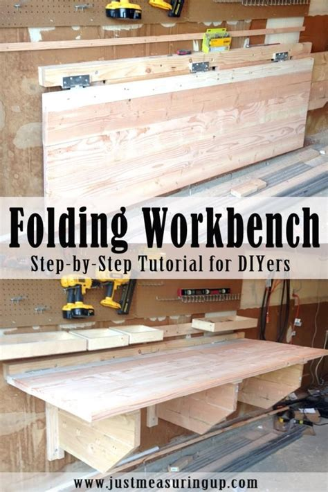 diy fold garage workbench best 25 diy workbench ideas on garage diy