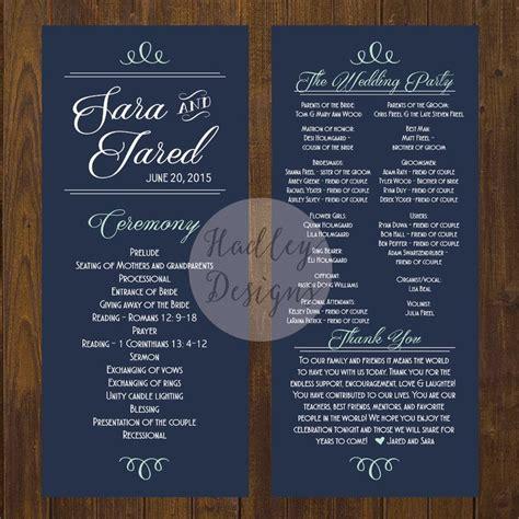 Wedding Brochure Fan by Wedding Program Exles Documents And Designs Wedding