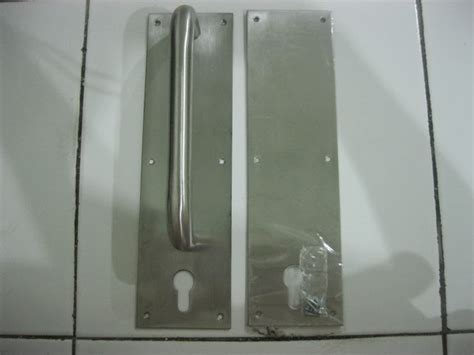 Handle Pintu Plat jonzen hardware handle push plate