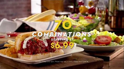 olive garden 7 dollar lunch olive garden pronto lunch tv commercial 70 lunch combinations ispot tv