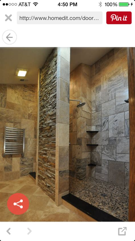 idea  judy forrester  bathrooms doorless shower