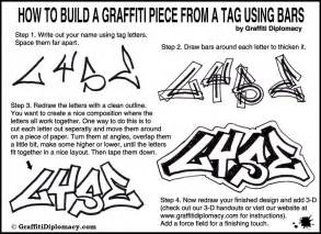 learn how to turn a graffiti tag into a how to draw