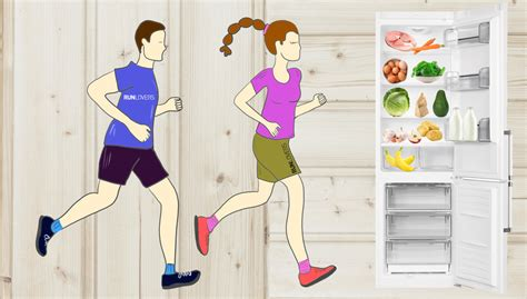 alimentazione runner cosa c 232 nel frigo runner runlovers