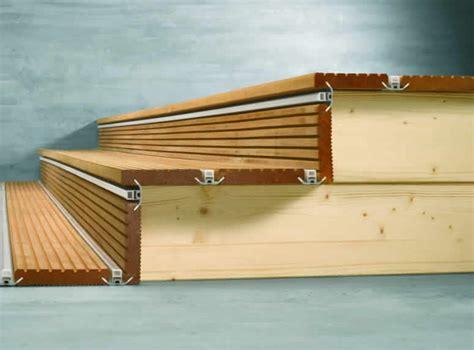 holztreppen geländer selber bauen treppe terrasse design