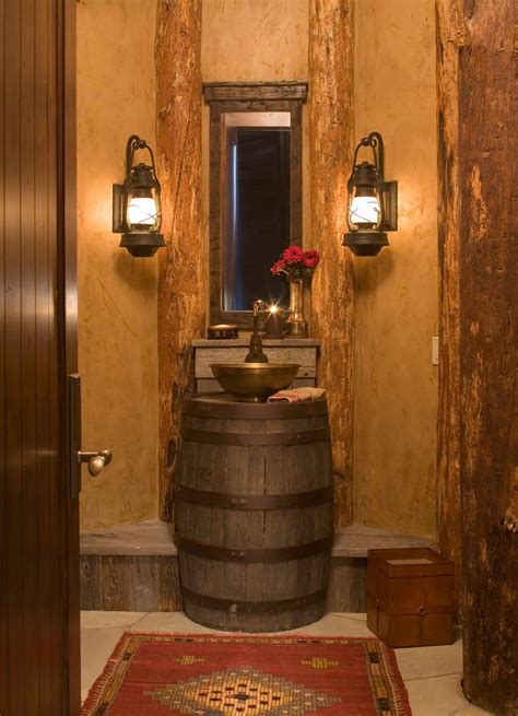 rustic western bathroom ideas home design decorating ideas