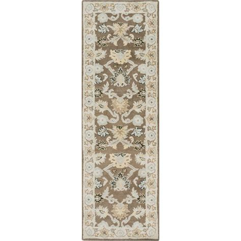 12 foot runner rugs artistic weavers cicero olive 3 ft x 12 ft indoor rug runner s00151007321 the home depot