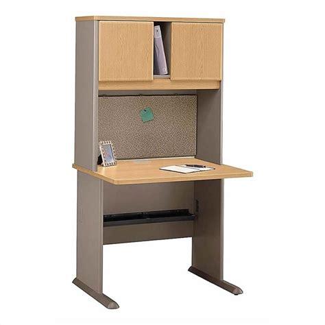 3 Person Computer Desk by Bush Business Series A 3 Person Computer Hutch Desk Setes In Light Oak Bsa030 643