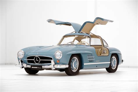 classic mercedes brabus promotes classic services with restored mercedes