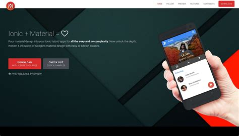 ionic best tutorial the 15 best material design frameworks and libraries