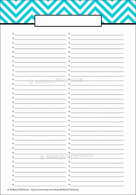 blank checklist template pdf 10 blank checklist template sletemplatess