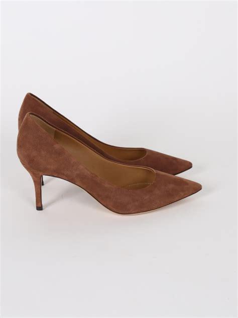 Soletopia Brown Low Heels salvatore ferragamo suede leather brown low heel pumps 6 5 luxury bags