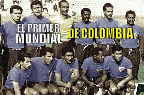 imagenes historicas del futbol mundial el primer mundial de colombia merecido festejo goal com