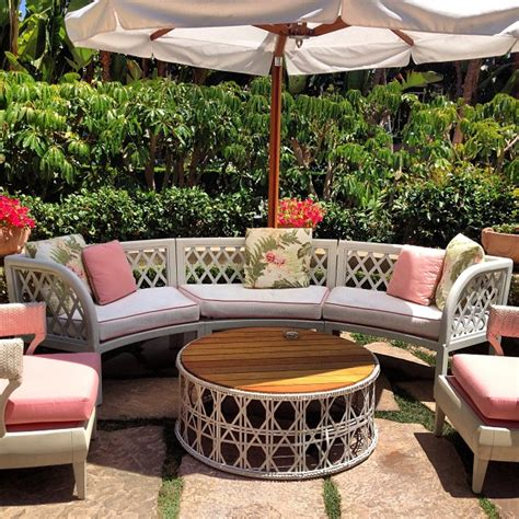 hotel outdoor furniture tropical modern d 233 cor at the beverly hotel
