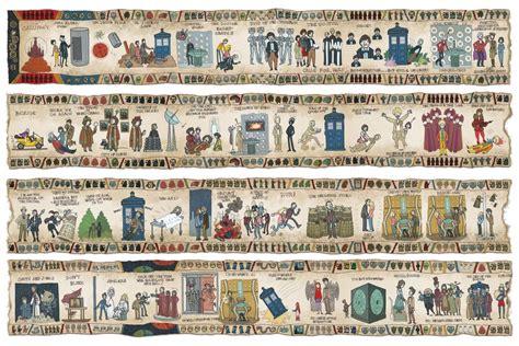 Tapisseries De Bayeux by L Histoire De Doctor Who En Tapisserie De Bayeux