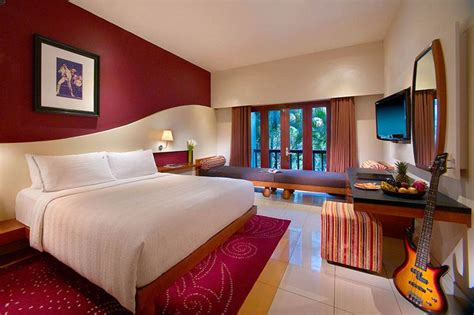 deluxe room deluxe room at rock hotel bali hotel bali